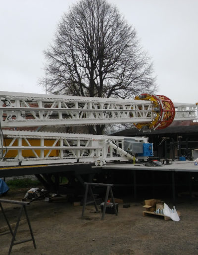 SMART TECHNIK a.s. - Attraction - Chain carousel - STAR-FLYER - 30m